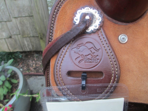 Roohide Brumby Cutting Saddle