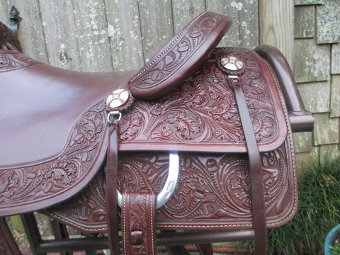 Sean Ryon Cutting Saddle By Paul Garcia