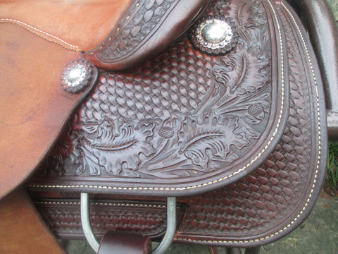 Martins Saddlery Team Roping Saddle