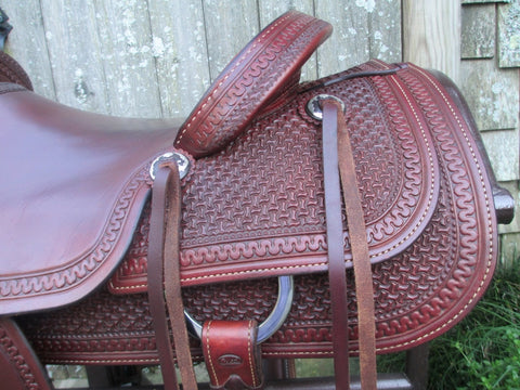 Coats Ranch Saddle Roping Saddle