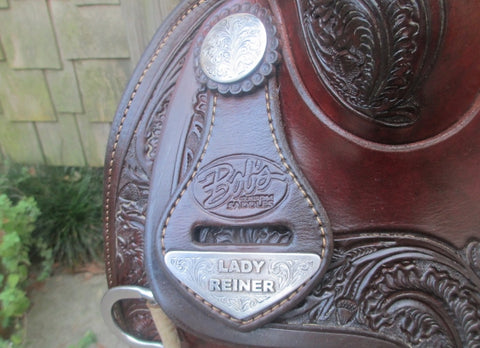 Bob's Lady Reiner Reining Saddle