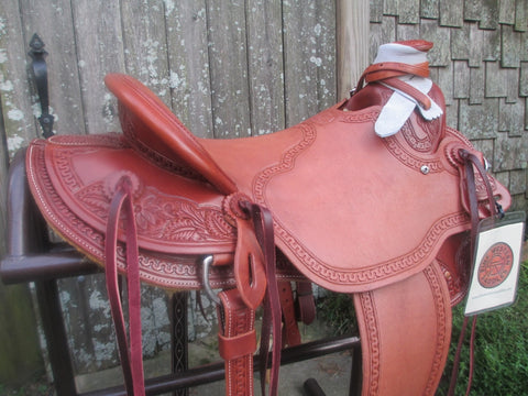 New McCall McLite Wade Roping Saddle Ranch Saddle