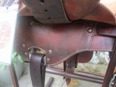 Used McCall Lady Wade Ranch, Roping Saddle