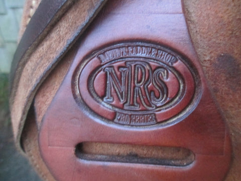 NRS Pro Series Ranch Saddle Roping Saddle