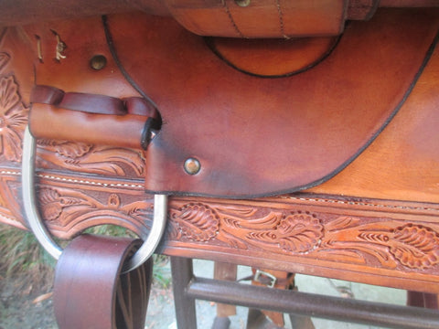NRS Team Roping Saddle