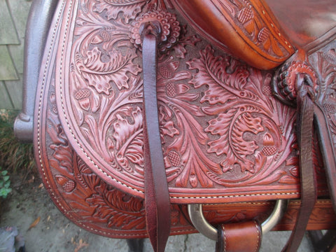 Dale Martin Team Roping Saddle