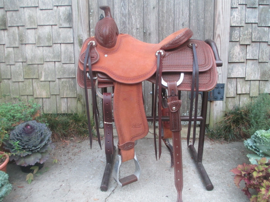 Jeff Smith Ranch Cutter (New) - Fine Western Saddles