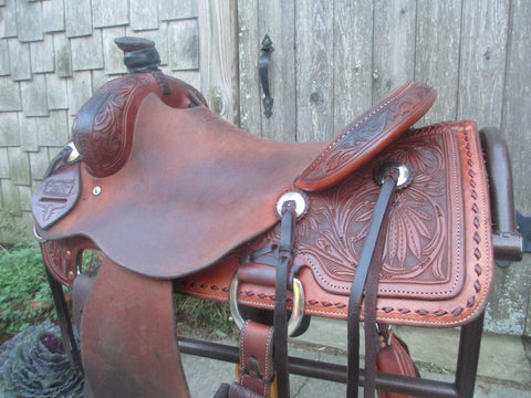 Trent Ward Ranch Saddle