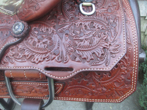 Ammerman Roping Saddle