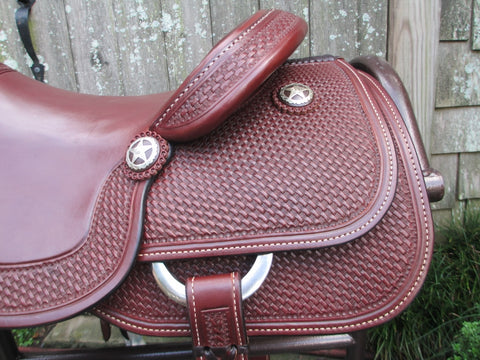 New Ruelas Cutting Saddle