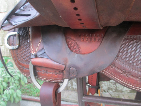 Cowboy Tack Cutting Saddle