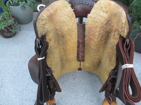 M J (Michelle) Liggett Cutting Saddle