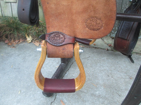 Live Oak Cutting Saddle Built By Mike Anders