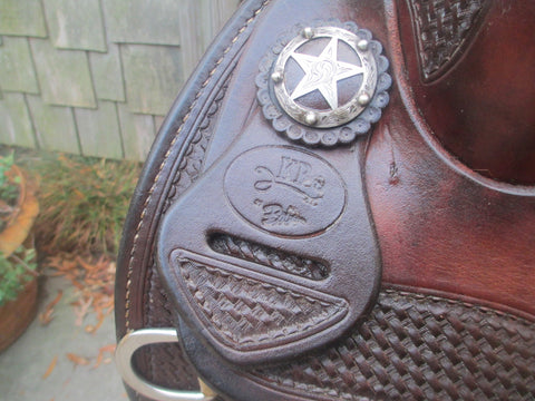 Bob's KR Reining Saddle