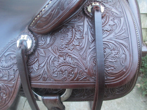 Jeff Smith Cowboy Collection Cowhorse Saddle