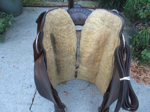 Roohide Reining Saddle Cowhorse Saddle