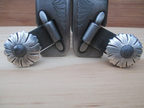 John Jennings Double Mounted Swan Spurs