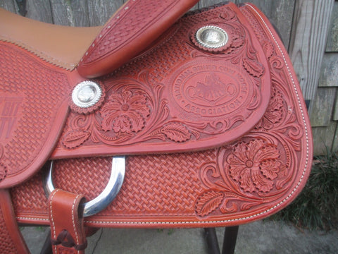 Bob's Cowhorse Saddle (New)
