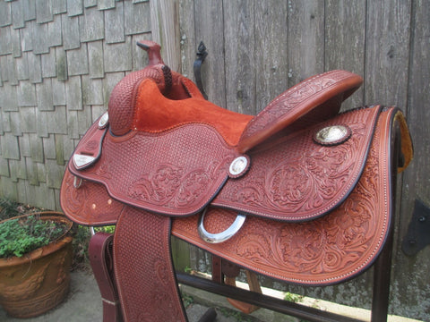 Bob's Lady Reiner Reining Saddle (New)
