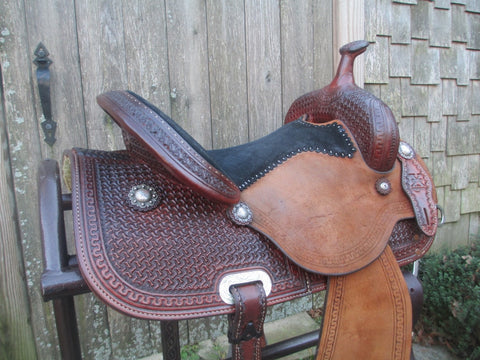Reinsman X Barrel Saddle