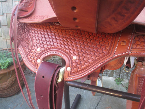 McCall Lady Wade Roping Saddle Ranch Saddle (New)
