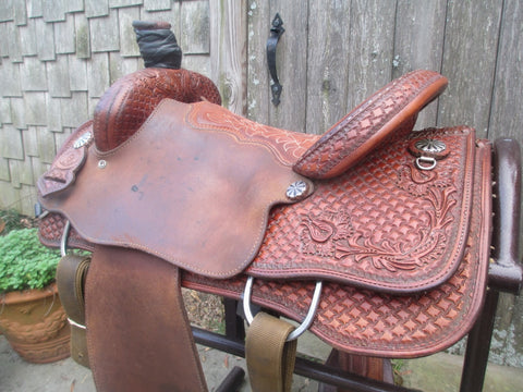 Tod Slone Team Roping Saddle
