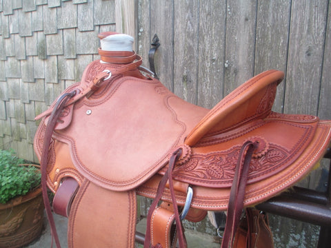 McCall Lade Wade Roping Saddle Ranch Saddle (NEW)
