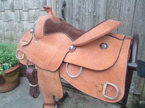 McLellands Youth Small Adult Training Saddle Show Saddle Other Saddle