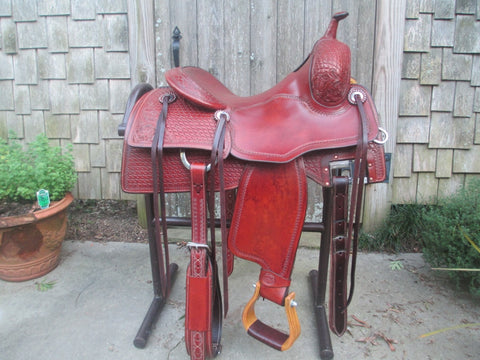 Martin Saddlery Performance Saddle Cutting Cowhorse