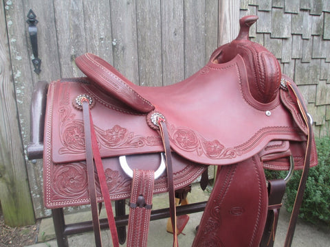 Don Rich Cowhorse Saddle (New)