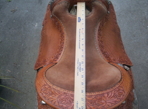 Blue Ribbon Show Saddle