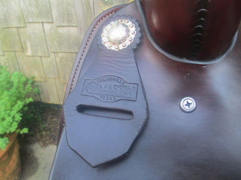 Martin Saddlery Cutting Saddle