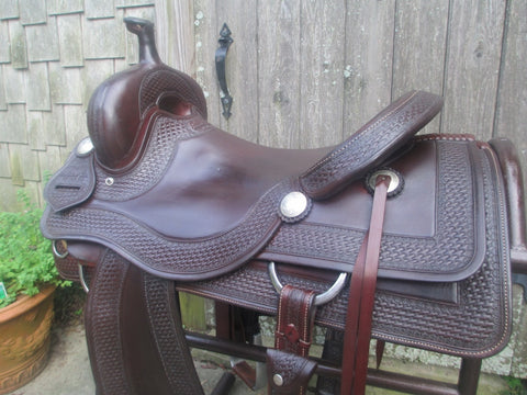 Sean Ryon Ranch Cutter Saddle Built By Paul Garcia