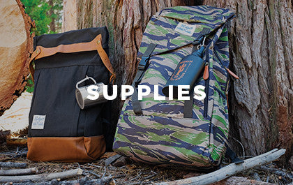 Backpacks, hammocks, knives, & more