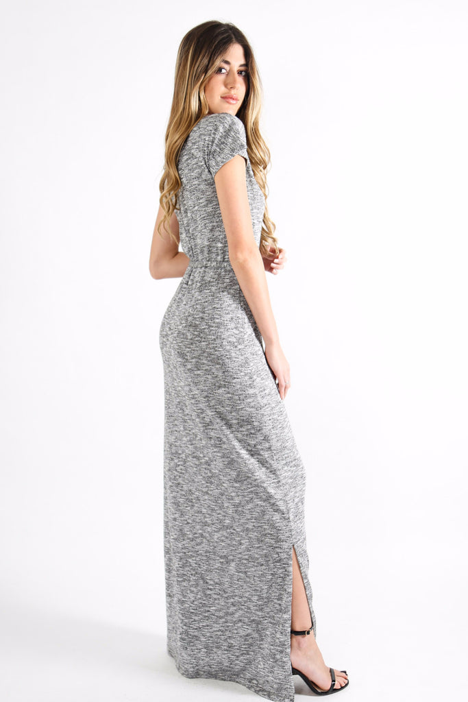 HUDSON GREY KNIT DRESS