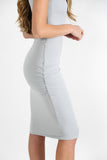 PALMA DRESS ICY GREY