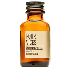 Beard Brand beard oil four vices