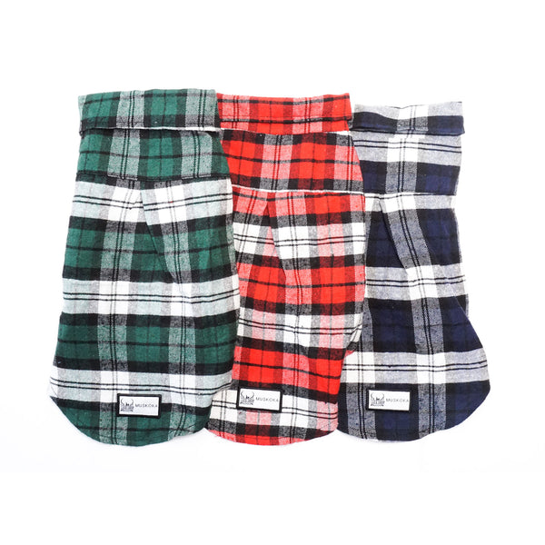 Dog Shop Muskoka Plaid Shirt for Dogs