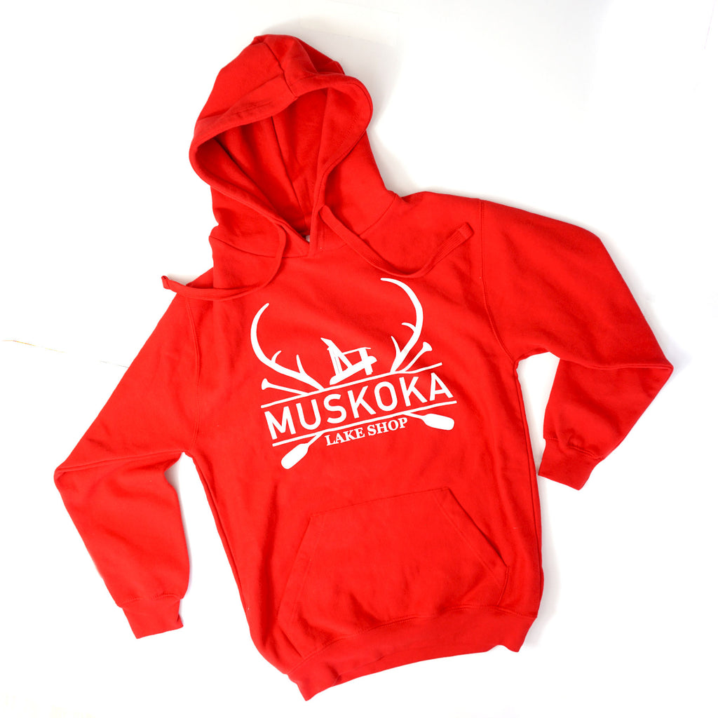 Lake Shop Muskoka Hooded Sweatshirts