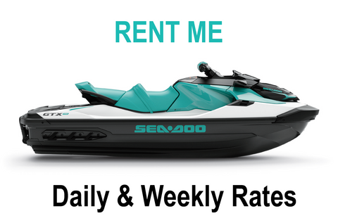 Rent a Sea-Doo - 2021 GTX Pro (Available April) $350/day