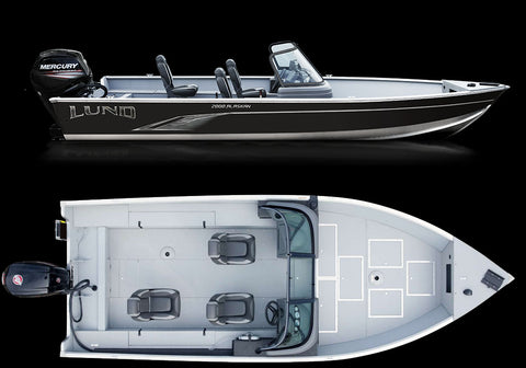 "Lund 20'6"" - Alaskan Dual Console Deluxe Package"