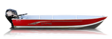 Lund SSV-16 Tiller (Red Hull) ETA April
