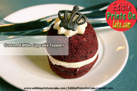 Custom Edible Cupcake Toppers – The Modern and Contemporary Choice for Birthday Parties