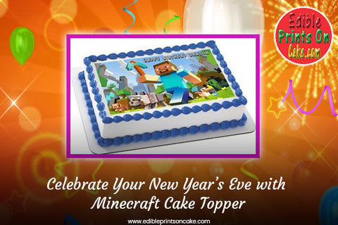 Minecraft Cake Toppers, Minecraft Cupcake Toppers