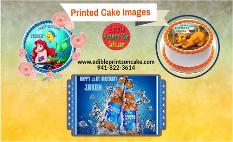printed cake images