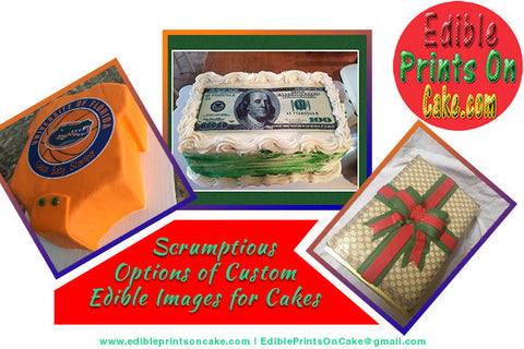 custom edible images for cakes