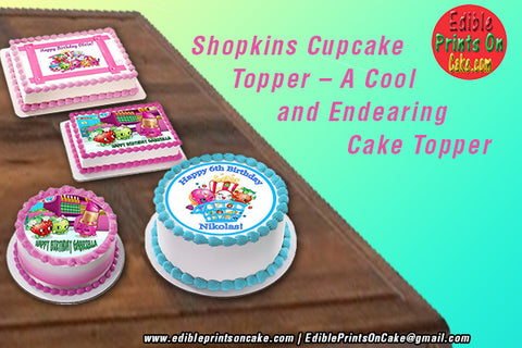 shopkins birthday cake topper
