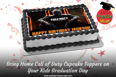 call of duty cupcake toppers