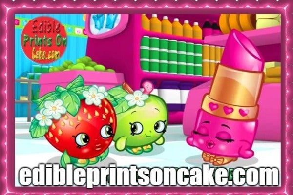 shopkins cupcake topper