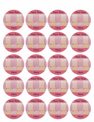 Lotto Powerball - Edible Cake Topper, Cupcake Toppers, Strips